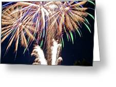 Fireworks no.4 Greeting Card by Niels Nielsen