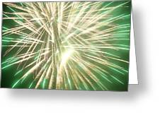 Fireworks Greeting Card by Ronald Britton