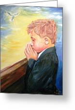 First Holy Communion Greeting Card by Dave Manning