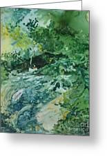 Fish Ahead Greeting Card by Elizabeth Carr
