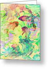 Fish Dreams Greeting Card by Rachel Christine Nowicki