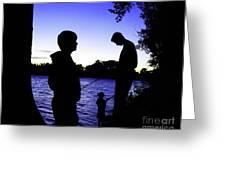 Fishin Buddies Greeting Card by Terril Heilman