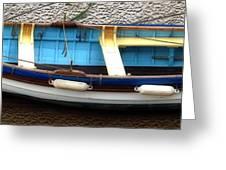 Fishing Boat Greeting Card by Svetlana Sewell