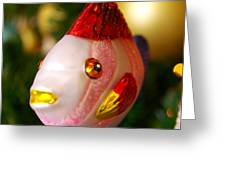 Fishy Ornament Greeting Card by Jera Sky