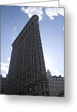 Flat Iron 3 Greeting Card by Jeff Porter