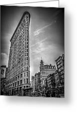 Flatiron Greeting Card by Shari Mattox