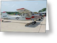 Flight Line Greeting Card by Jame Hayes