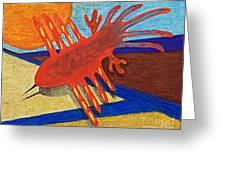 Flight Of The Ancients Greeting Card by Tammy Ishmael - Eizman