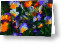 Floral Study 053010a Greeting Card by David Lane
