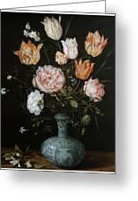 Flower Piece Greeting Card by Jan Brueghel The Elder