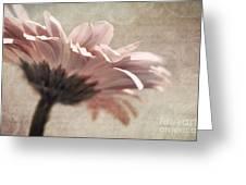 Flower Poetry Greeting Card by VIAINA Visual Artist