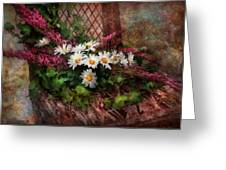 Flower - Still - Seat Reserved Greeting Card by Mike Savad