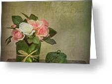 Flowers And A Ball Of String Greeting Card by Ian Barber