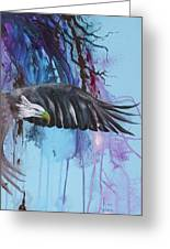 Flying High Greeting Card by Larry  Johnson
