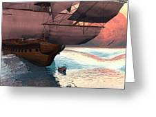 Following The Navigator Greeting Card by Claude McCoy