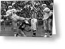 Football Game, 1965 Greeting Card by Granger