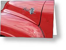 Ford F-100 Greeting Card by Kelly Mezzapelle