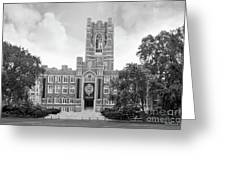 Fordham University Keating Hall Greeting Card by University Icons