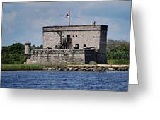 Fort Matanzas Greeting Card by Skip Willits