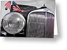 Fourth of July-Chevvy  Greeting Card by Douglas Barnard