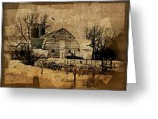 Fragmented Barn  Greeting Card by Julie Hamilton