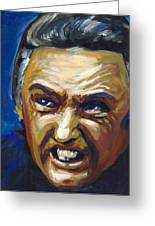 Frank Booth Greeting Card by Buffalo Bonker