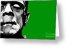 Frankenstein's Monster Signed Prints Available At Laartwork.com Coupon Code Kodak Greeting Card by Leon Jimenez