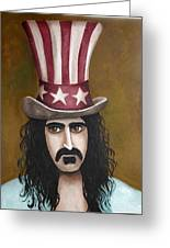Franks Hat Greeting Card by Leah Saulnier The Painting Maniac