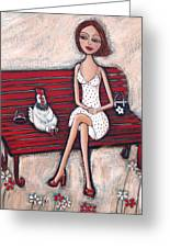 French Chics Greeting Card by Denise Daffara