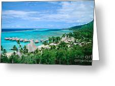 French Polynesia, Moorea Greeting Card by Kyle Rothenborg - Printscapes