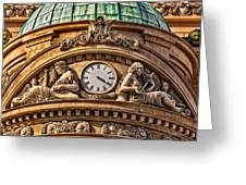 French Time Greeting Card by Christopher Holmes