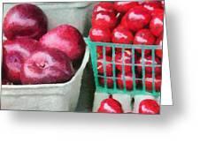 Fresh Market Fruit Greeting Card by Jeff Kolker