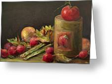 Freshly Picked Greeting Card by Mary Wolf