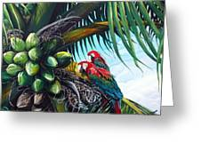 Friends Of A Feather Greeting Card by Karin  Dawn Kelshall- Best