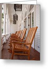 Front Porch Greeting Card by Kelly Wade