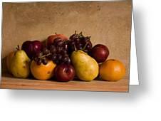 Fruit Still Life Greeting Card by Andrew Soundarajan