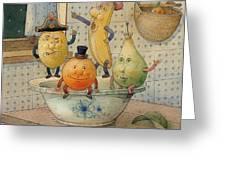 Fruits Greeting Card by Kestutis Kasparavicius