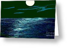 Full Moon 3 Greeting Card by Mimo Krouzian