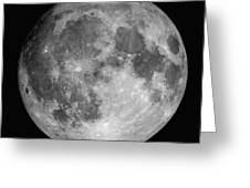 Full Moon Greeting Card by Roth Ritter