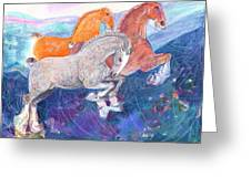 Fun Time Greeting Card by Mary Armstrong