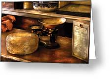 Furniture - Table - Curious Items For Sale Greeting Card by Mike Savad