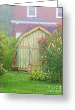 Garden Daybreak Greeting Card by Christine Belt