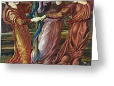 Garden of the Hesperides Greeting Card by Sir Edward Burne Jones