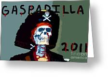 Gasparilla 2011 Work Number Two Greeting Card by David Lee Thompson