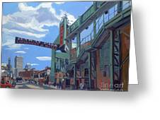Gate C Greeting Card by Deb Putnam