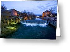 Gatlinburg Mill Greeting Card by Paul Bartoszek