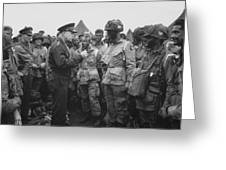 General Eisenhower On D-day  Greeting Card by War Is Hell Store
