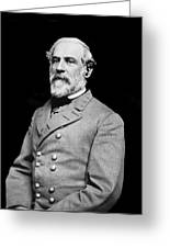 General Robert E Lee - Csa Greeting Card by Paul W Faust -  Impressions of Light
