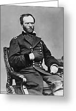 General William Sherman Greeting Card by War Is Hell Store