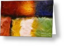 Genesis Iv Greeting Card by Lutz Baar